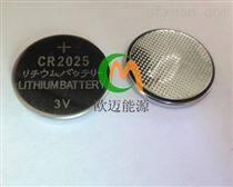 搖控器電池CR2025扣式電池