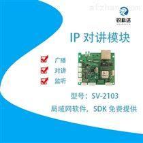 高速公路緊急對講系統IP對講模塊SV-2103