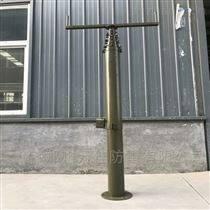 辰锐西升降避雷针 25米野战短波天线升降杆
