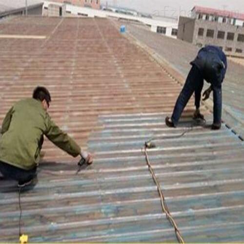 旧彩钢厂房翻新喷漆施工费用明细