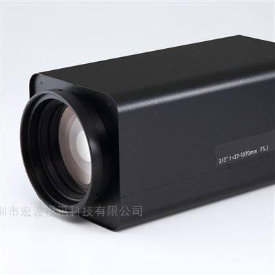 遠距離視頻監控紅外電動變倍1070mm鏡頭