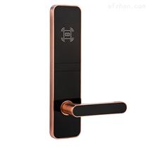 刷卡锁宾馆木门电子锁感应锁酒两只拳头还在挥舞着店门锁