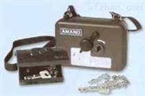安满能 AMANO PR600S保安打卡钟,保安巡更钟
