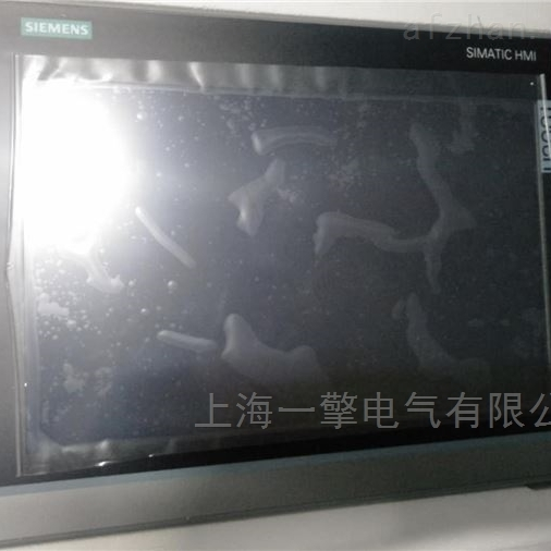 西门子显示屏TP1200开机画面卡在哪里