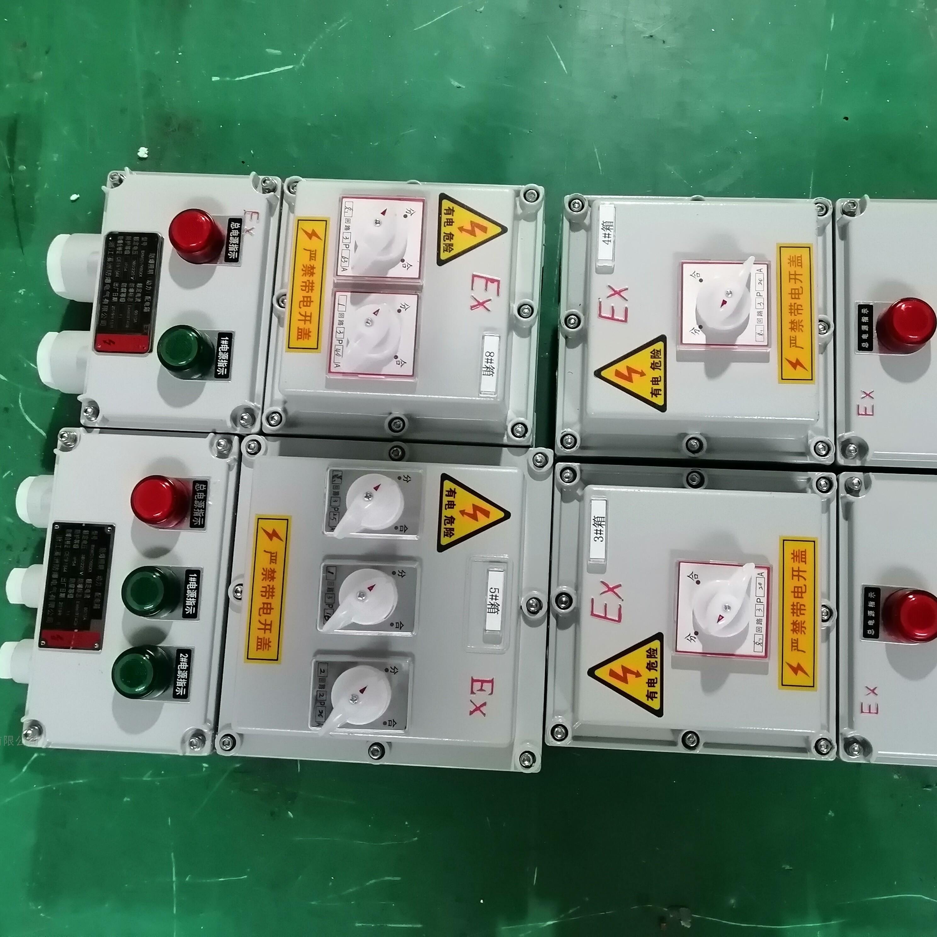 防爆配电箱1回路2回路3回路