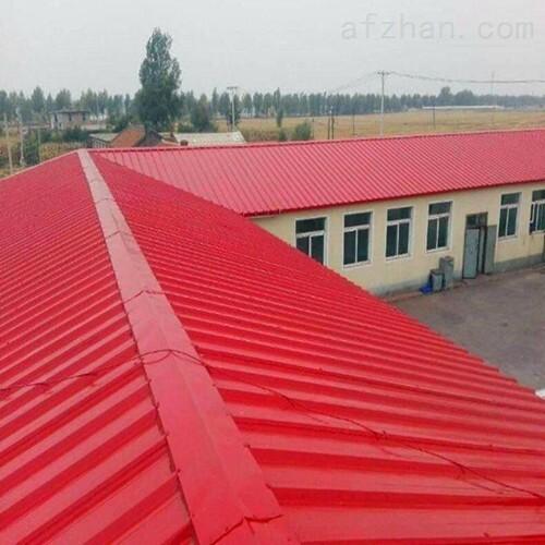 大同金属彩钢屋顶防锈翻新漆施工工艺说明