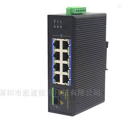 工业级1光8电管理型POE千兆交换机