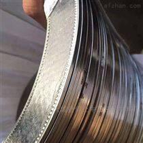供应柔性石墨复合垫片高压金属包边石墨垫片