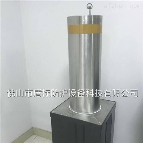 半自动升降柱-液压手动伸缩桩-止车地柱