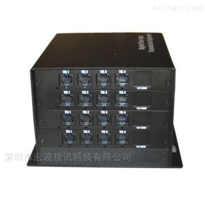 社区改造广播音频传输16路音频光端机