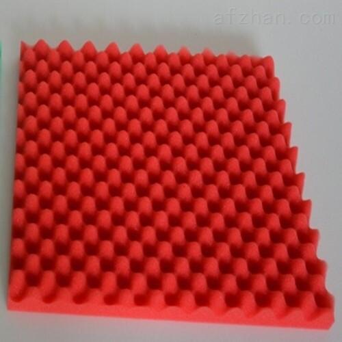 工厂吸音鸡蛋棉橡塑消音棉波浪棉密度