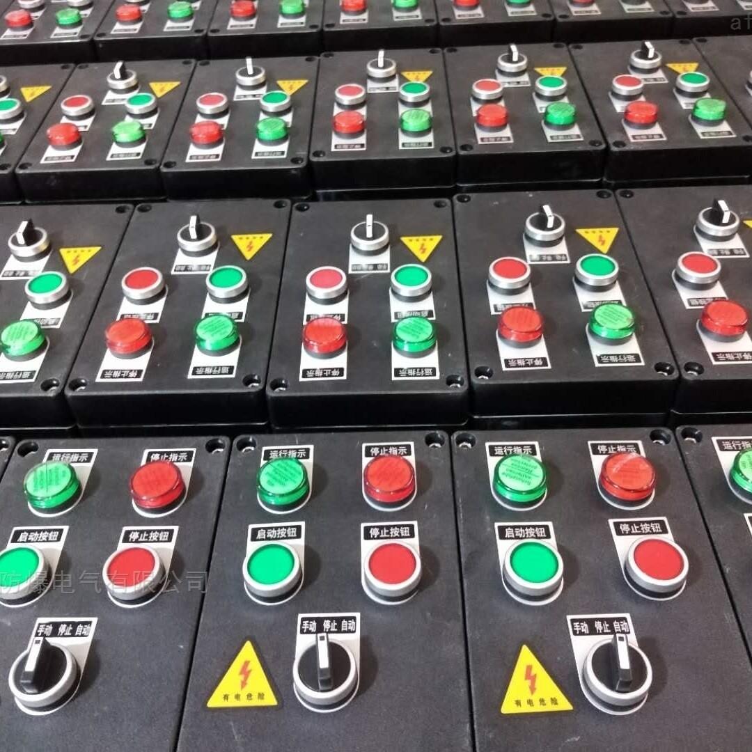 2灯2钮1转换防水防水防腐操作柱