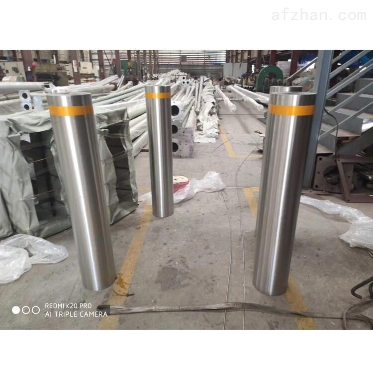 广州挡车柱固定路桩不锈钢防撞柱生产厂家