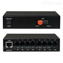 智慧校园视频监控4路视频+8路语音光端机