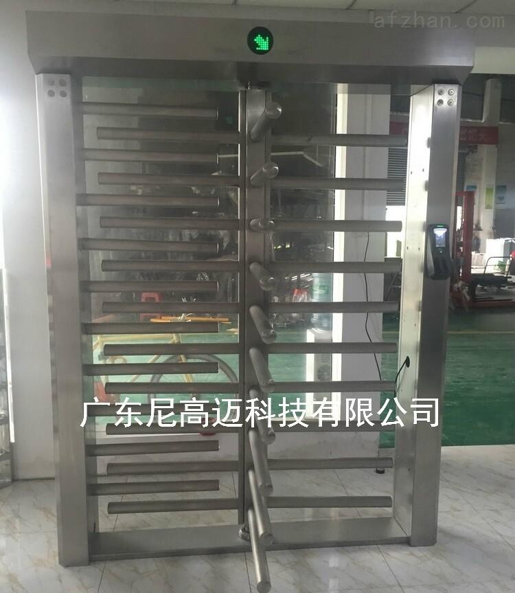广州监獄出入口旋转通道闸 90度全高转闸门