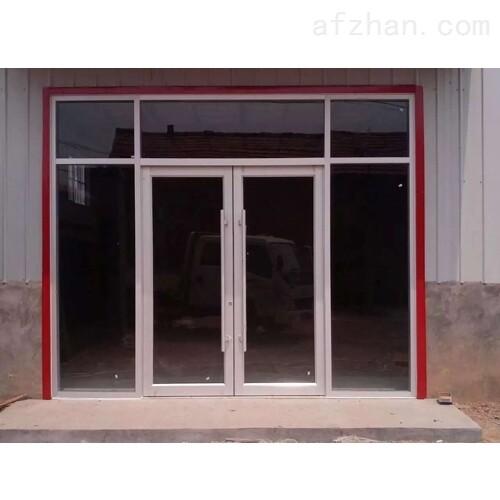 深圳肯德基门铝合金地弹门商用门厂家
