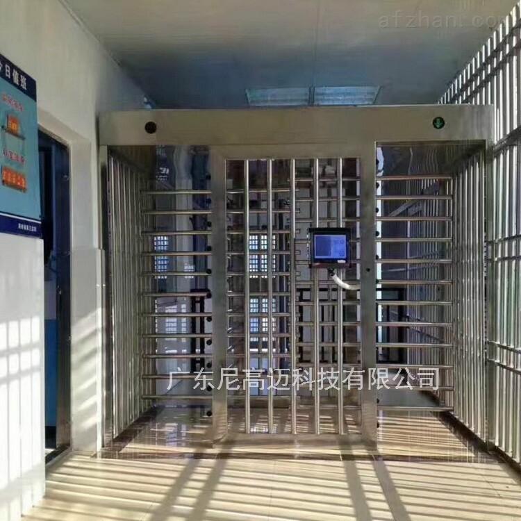 双机芯全高转闸 监獄转闸门定制