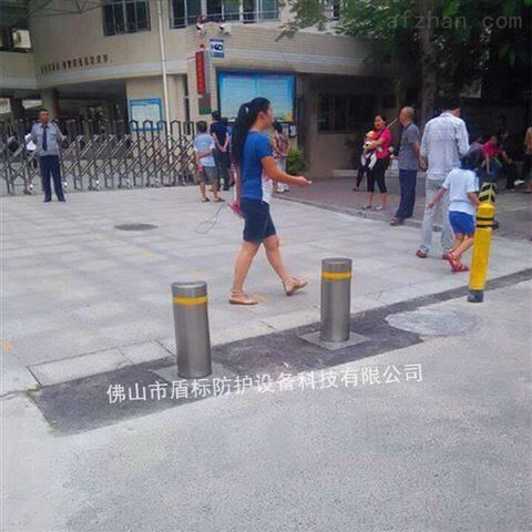 深圳小学大门防撞柱拆卸式可移动路桩