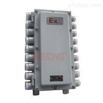 防爆配电箱采用高压静电喷塑