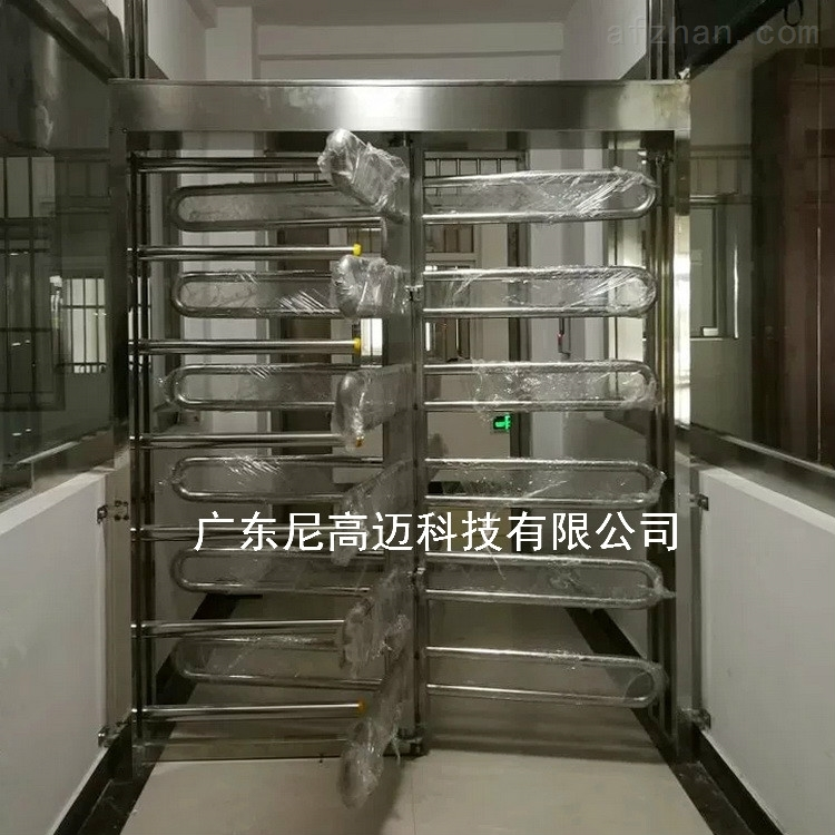 单机芯栅栏高转闸 监獄90度旋转不锈钢门
