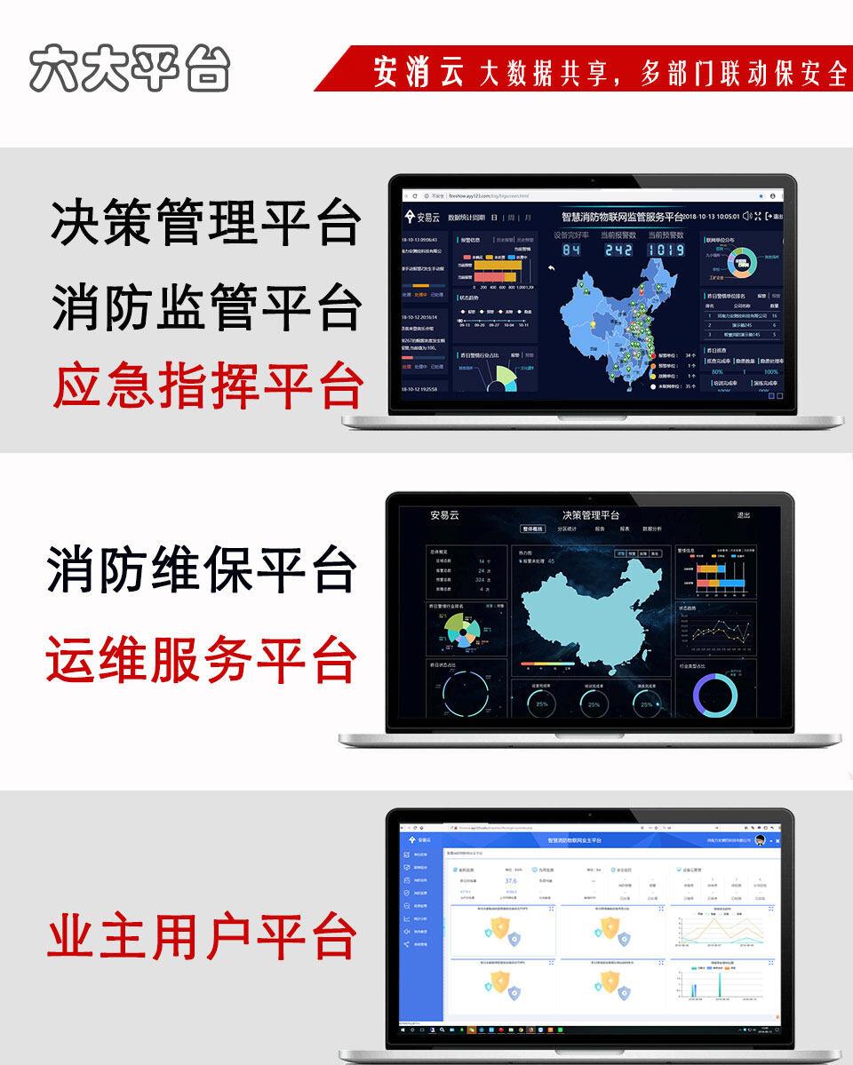 智慧消防物联网远程监控系统云平台