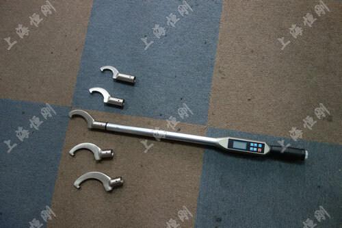 扭矩显示的扭力扳手工具图片(可配勾型头)