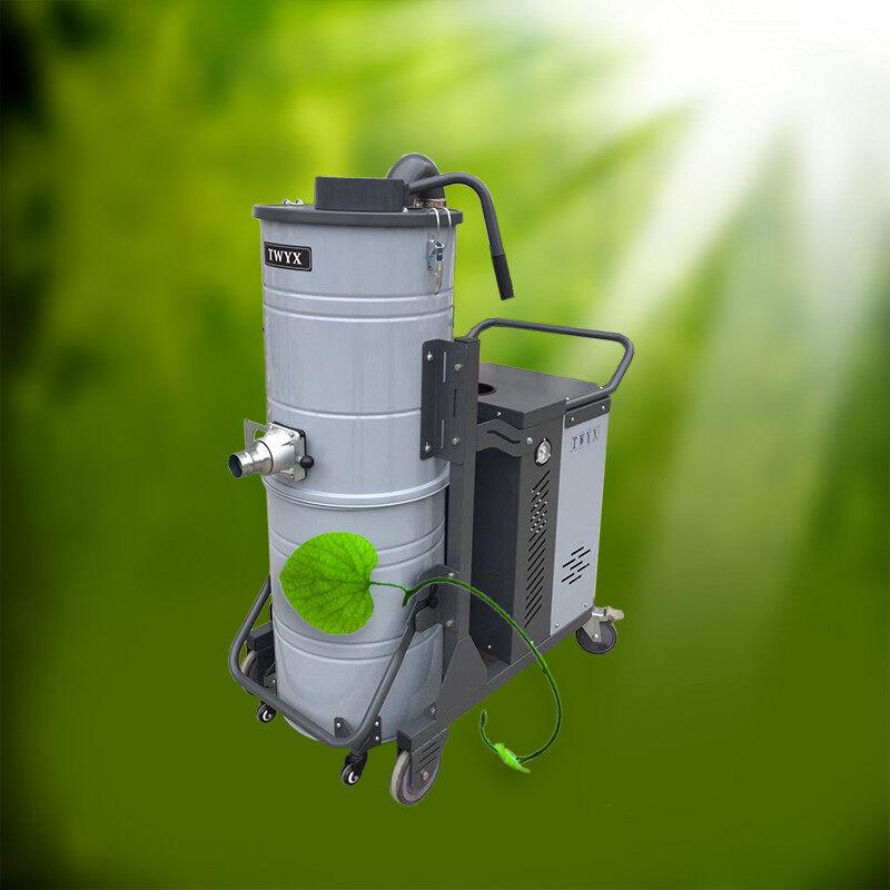 合肥环保工业吸尘器 粉尘收集移动式工业吸尘器 车间粉尘吸尘机 移动吸尘器 工业移动吸尘器示例图1